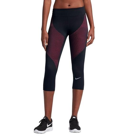 15aa3ef9471a9d Nike Pants | Zonal Strength Running Capris | Poshmark